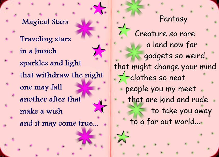 Magical Stars & Fantasy - Poems for Children