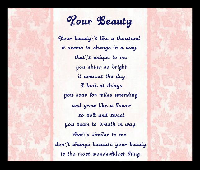Your Beautiful Poem 32