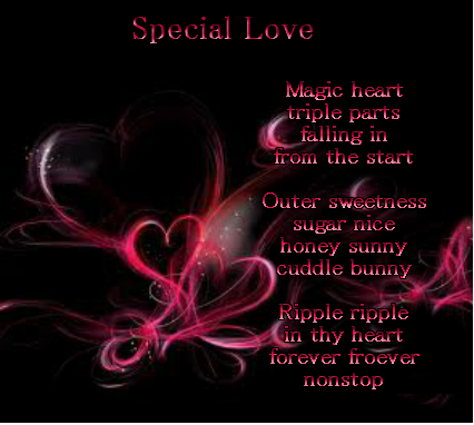 Special Love Picture Poems
