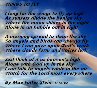 WINGS TO FLY - Spiritual Poetry