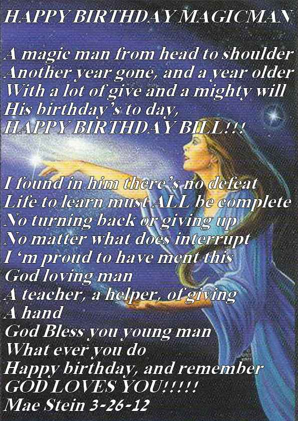 Happy Birthday To My Pastor Poems | just b.CAUSE