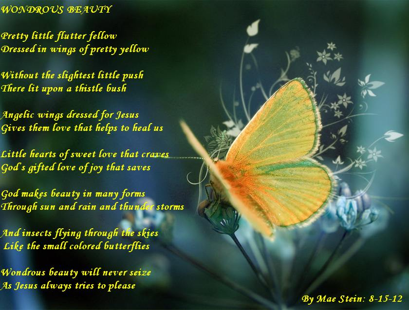 WONDROUS BEAUTY OF NATURE - Nature Poems