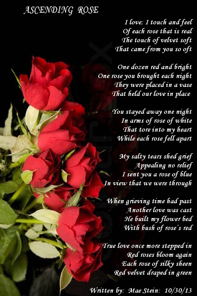 asending rose poems about love