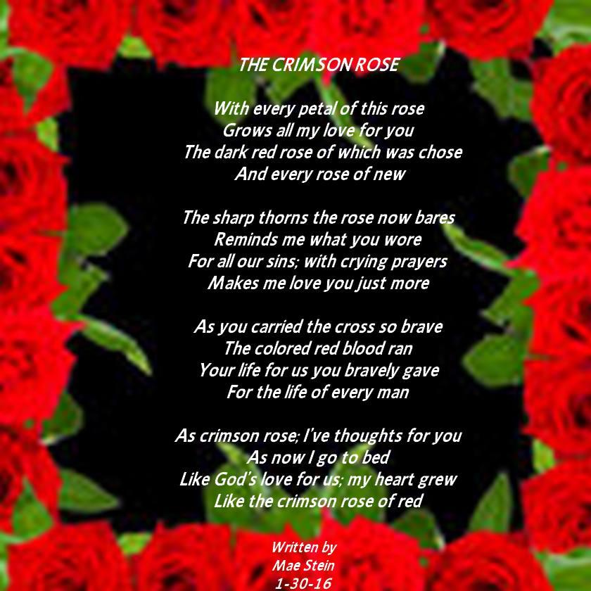 The Crimson Rose Spiritual Poetry