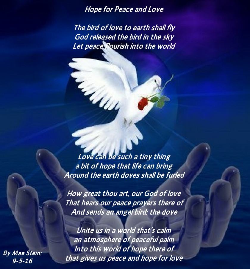 Spiritual Love Poems: Hope For Peace And Love