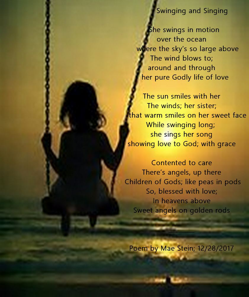 Swinging And Singing All Types Of Poetry