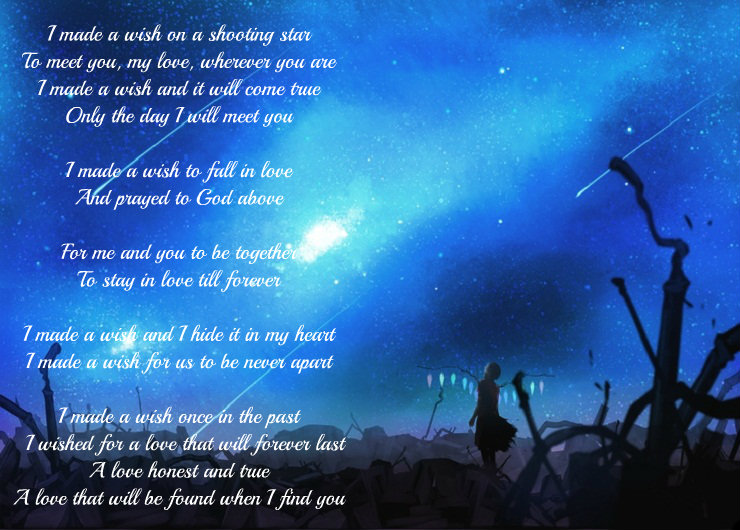 Shooting Star Poems About Love