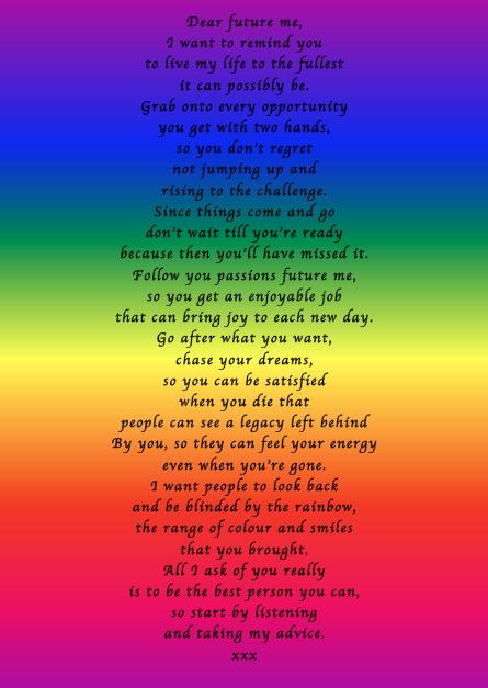 Dear Future Me - Poems by Teen Poets