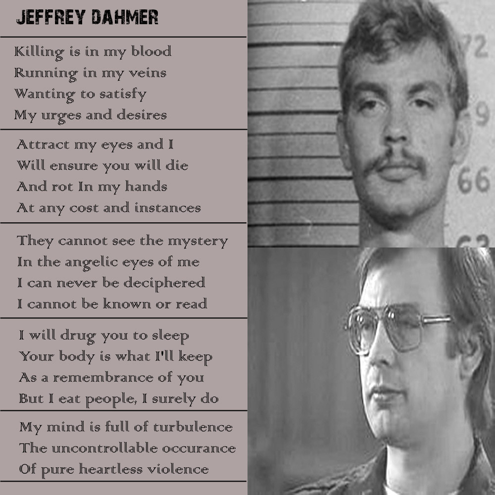 """""""Jeffrey Dahmer"""" - All types of Poetry Be Yourself Quotes For Teens"""