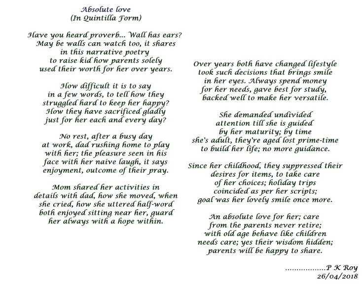 poem about maturity