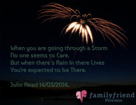 Fairweather Friend. - Poetry Quotes