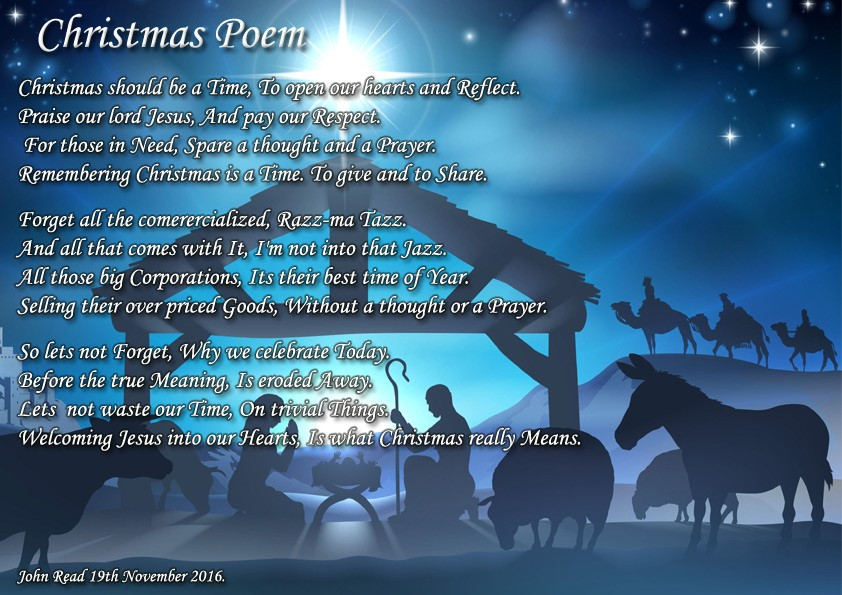 The true meaning of christmas poem
