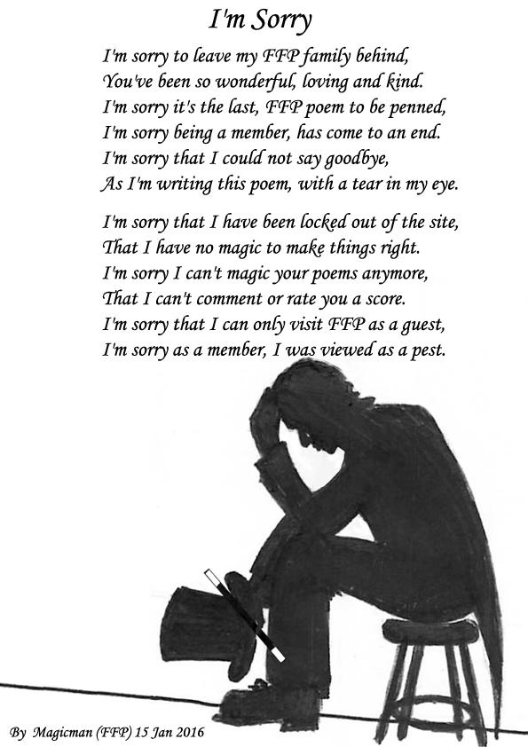 Im Sorry. - Sad Poetry