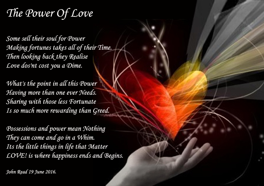 bac8bd0770a41 Power Of Love. - Poems about Love