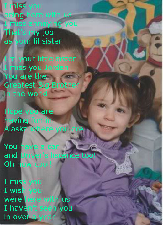 I Love My Brother Poems And Quotes I actually miss getting called