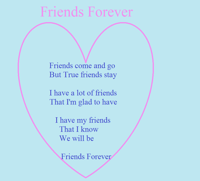 About That Forever Best Poems Rhyme Friends