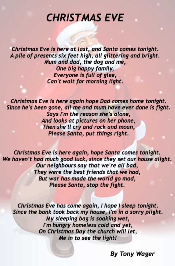 Christmas eve - Holiday Poems