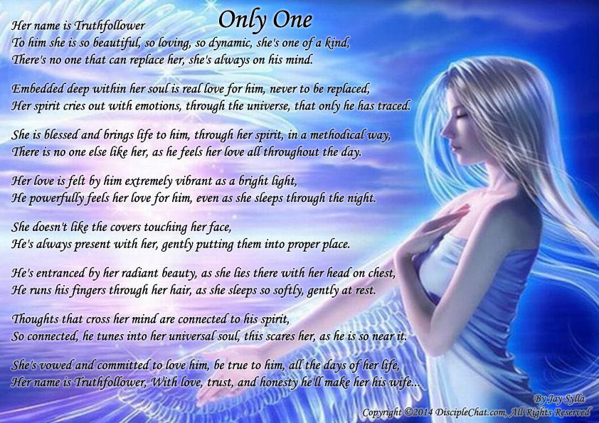 Only One ~ - Poems about Love