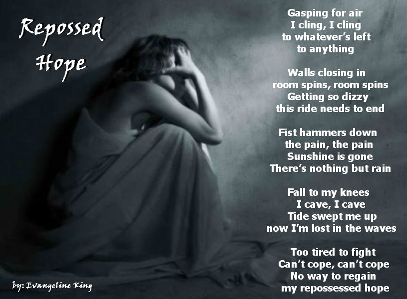REPOSSESSED HOPE - Sad Poetry