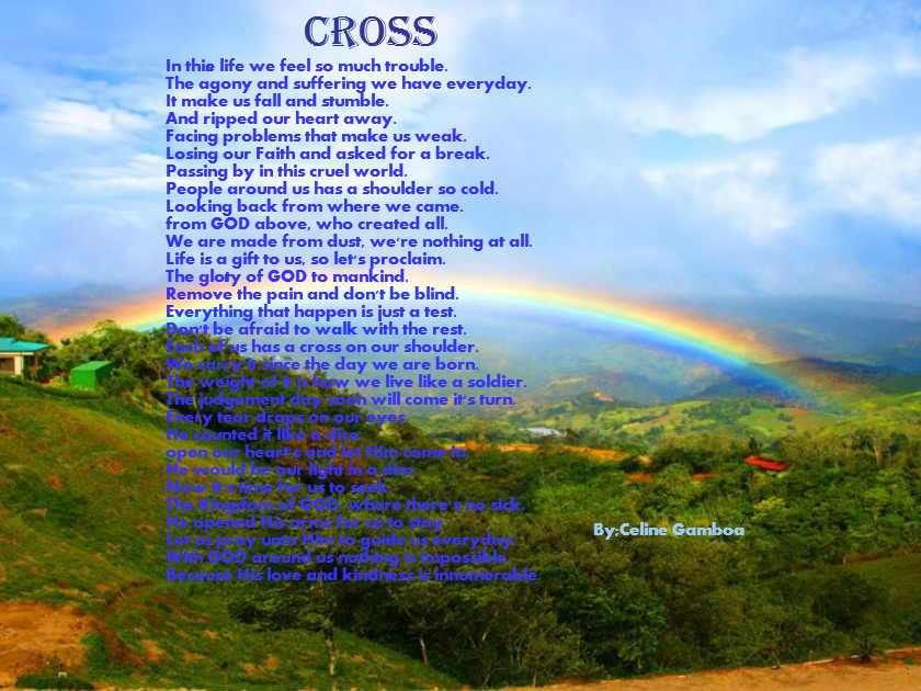 CROSS - Poems - Teens Only!