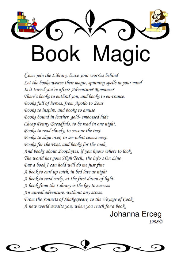 Book Magic - Poems about Family