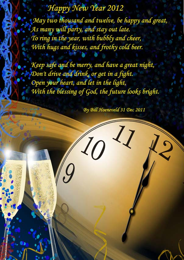 Happy New Year 2012 - Holiday Poems