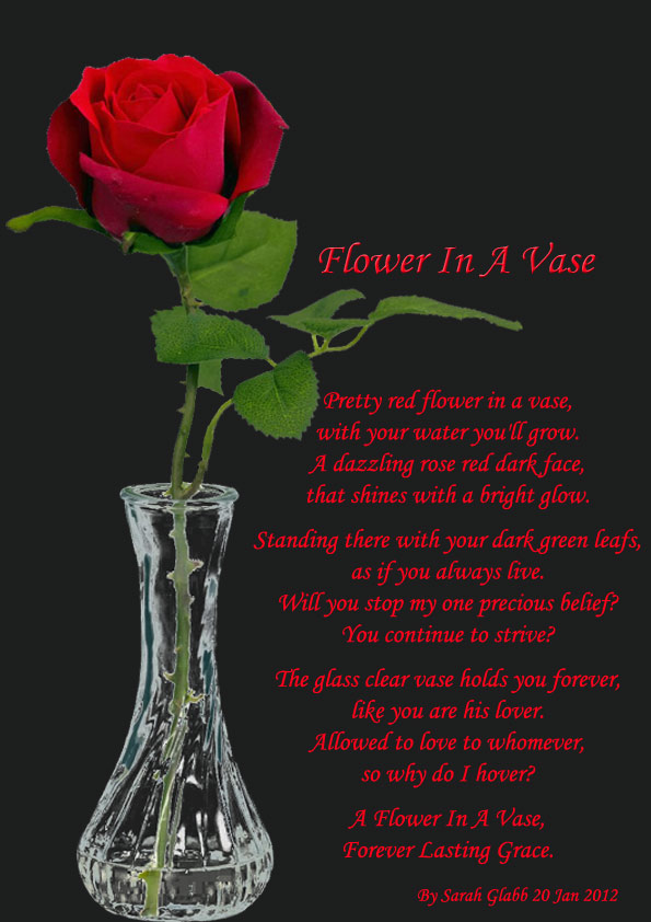 Flower In A Vase - All types of Poetry