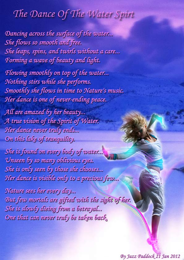 The Dance Of The Water Spirit - All types of Poetry