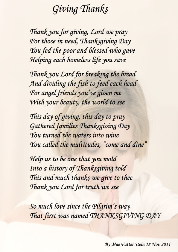 poems family thank you