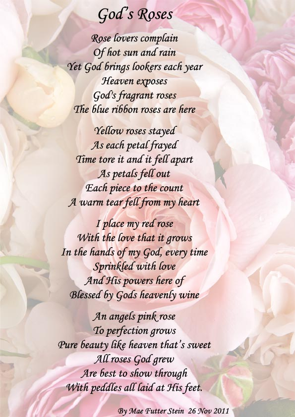 Gods Roses Spiritual Poetry