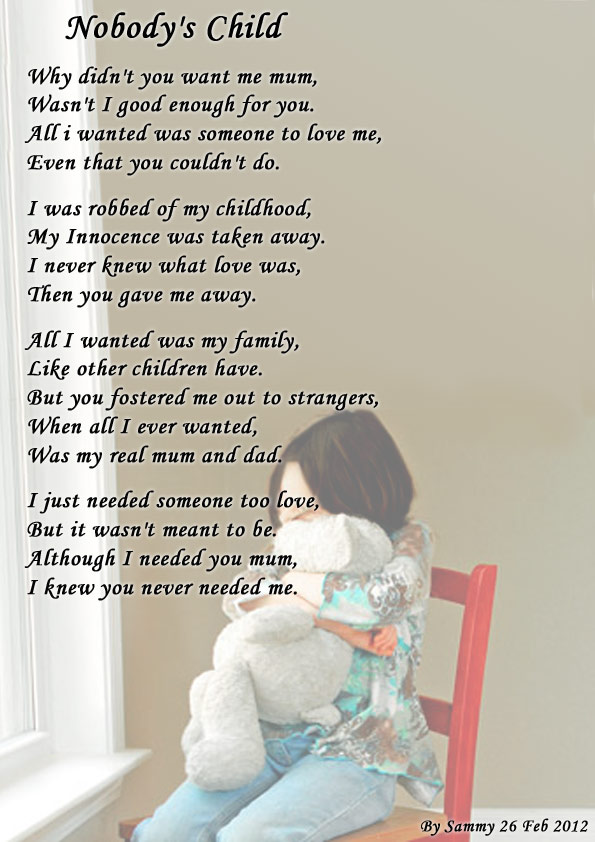 Sad+poems+about+family