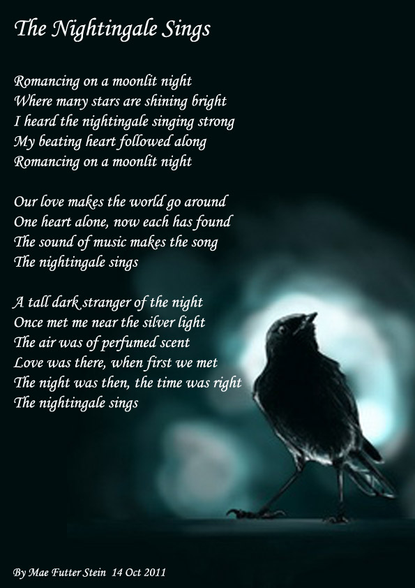 THE NIGHTINGALE SINGS - Poems about Love