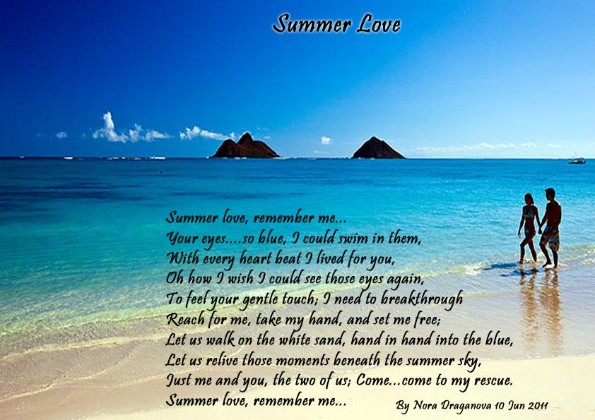 Summer Love Poems About Love