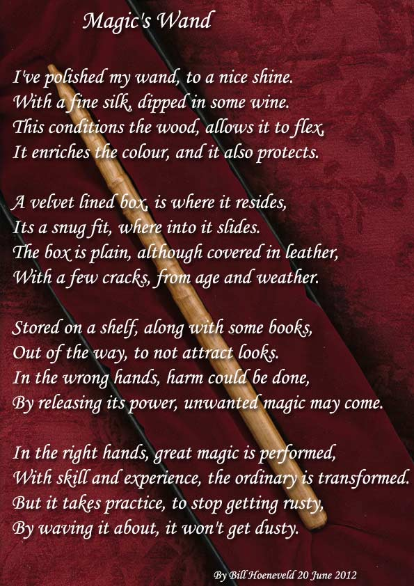Magic's Wand - All types of Poetry
