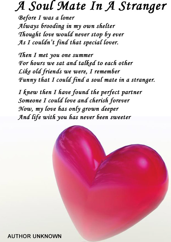 love poems by unknown authors or others poems about love