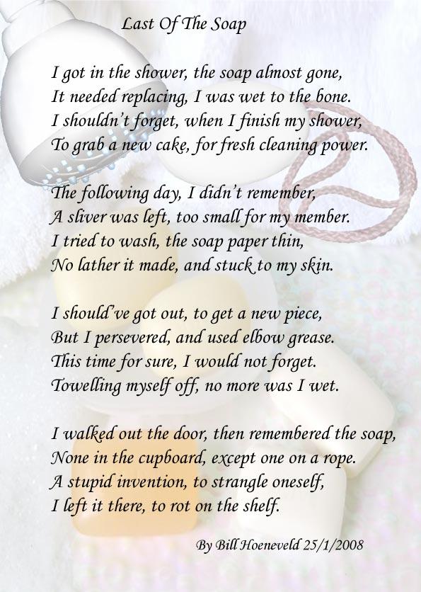 soap poem
