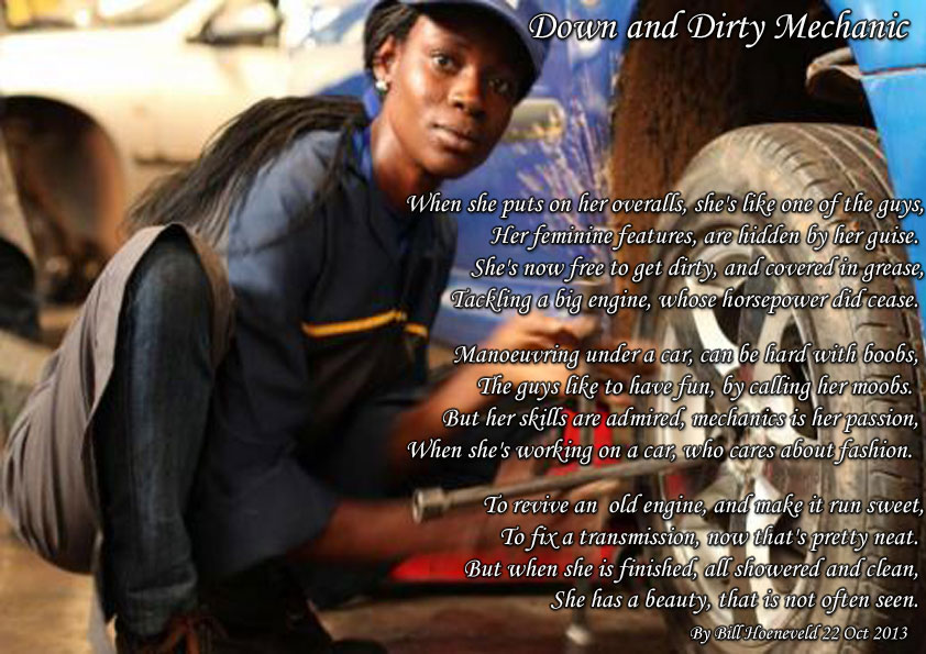 Mechanic Quotes Enchanting Down And Dirty Mechanic  Funny Cute Poems