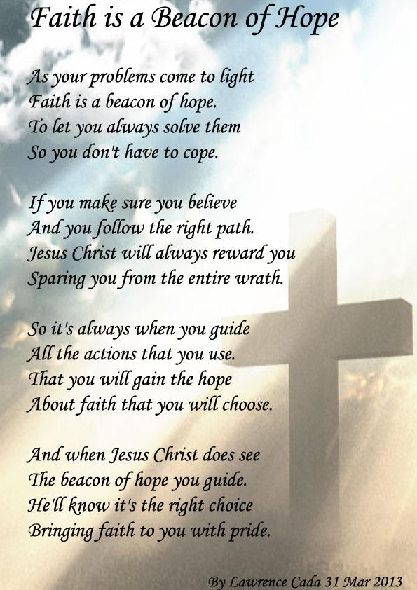 Faith is a Beacon of Hope - Spiritual Poetry