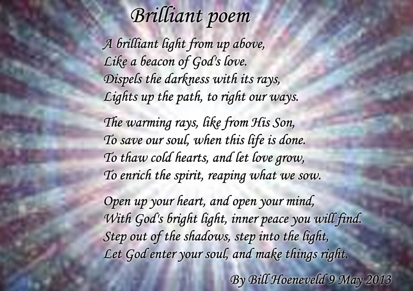 Brilliant Poem - Spiritual Poetry