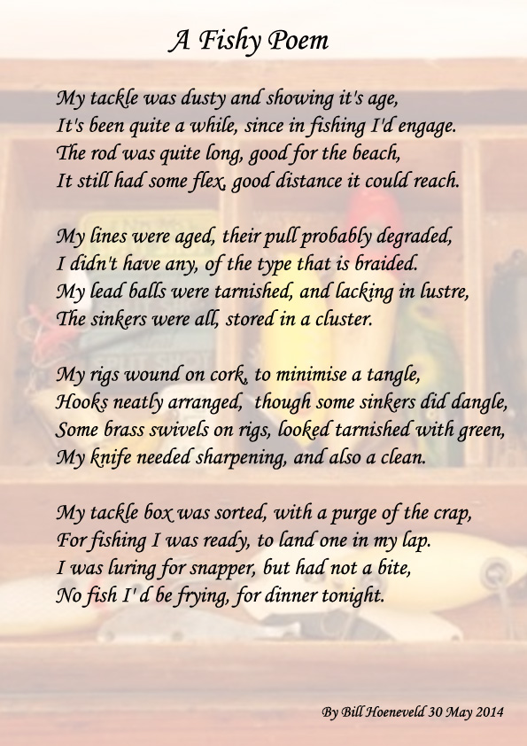 A Fishy Poem - All types of Poetry