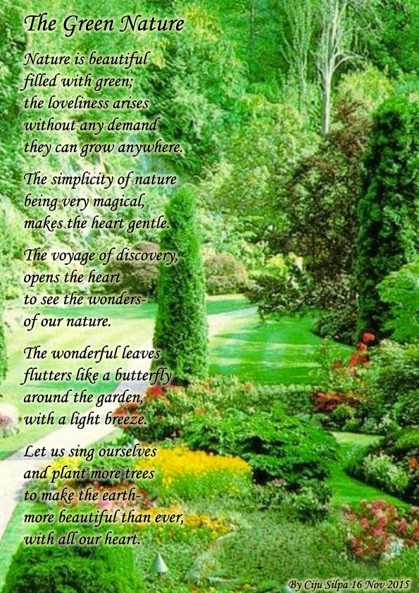 Green Nature Nature Poems