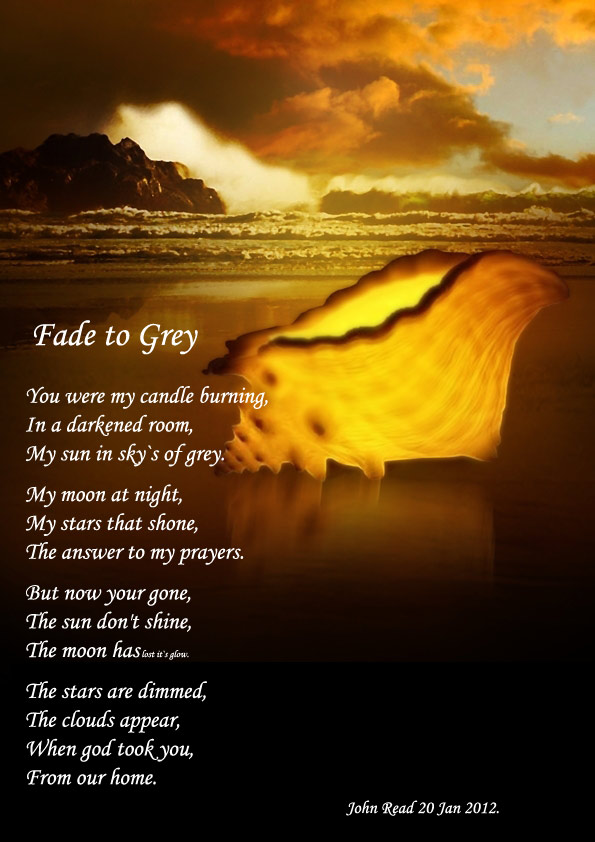 Fade To Grey Poems About Love