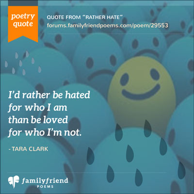 Rather hate anger poems what makes you angry we posted a poetry quote from this poem on our facebook page over here and it did very well nice job tara voltagebd Images